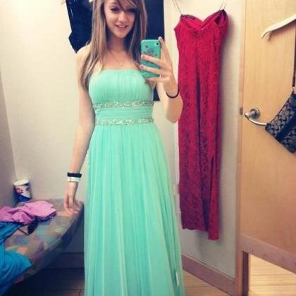 Mint Green Prom Dresses,Sweetheart ..