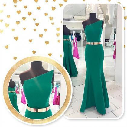 Green Prom Dresses,Sexy Evening Dre..