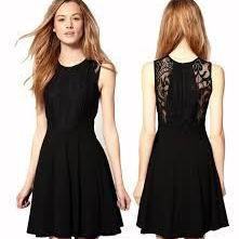 Cute Prom Dress,Black Chiffon Prom ..