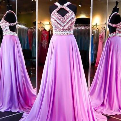 Pretty Fashion Prom Dresses,Backles..
