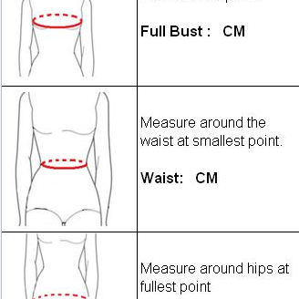 How to measure your sizes