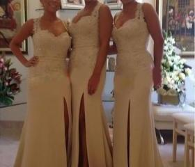 Ivory Bridesmaid Gow..