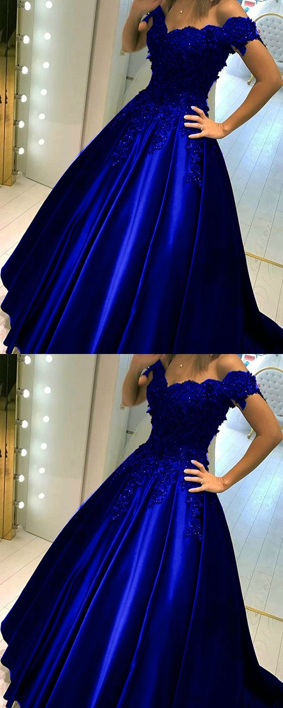 Royal Blue Quinceanera Dresses,Royal Blue Prom Dress,Ball Gowns Prom ...