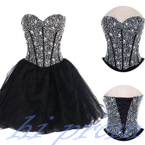f9102b258db Black Homecoming Dress