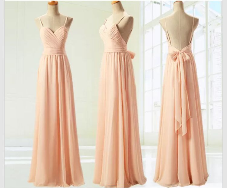Blush Pink Bridesmaid Gown f8ffe09f9