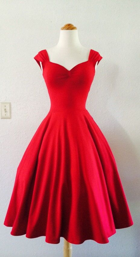 0b4d7cfebd5c Knee Length Prom Dresses,Satin Prom Dress,Red Prom Gown,Vintage Prom Gowns,Elegant  Evening Dress,Cheap Evening Gowns,Simple Party Gowns,Modest Bridesmaid ...
