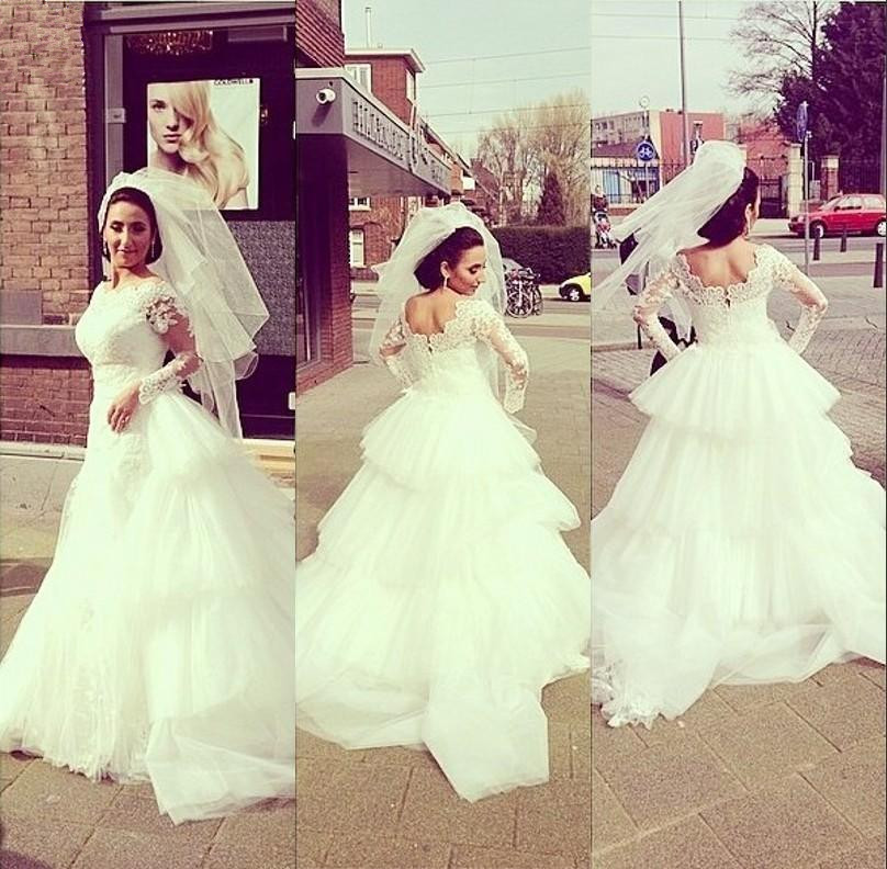 Ball Gown Wedding Dresses White