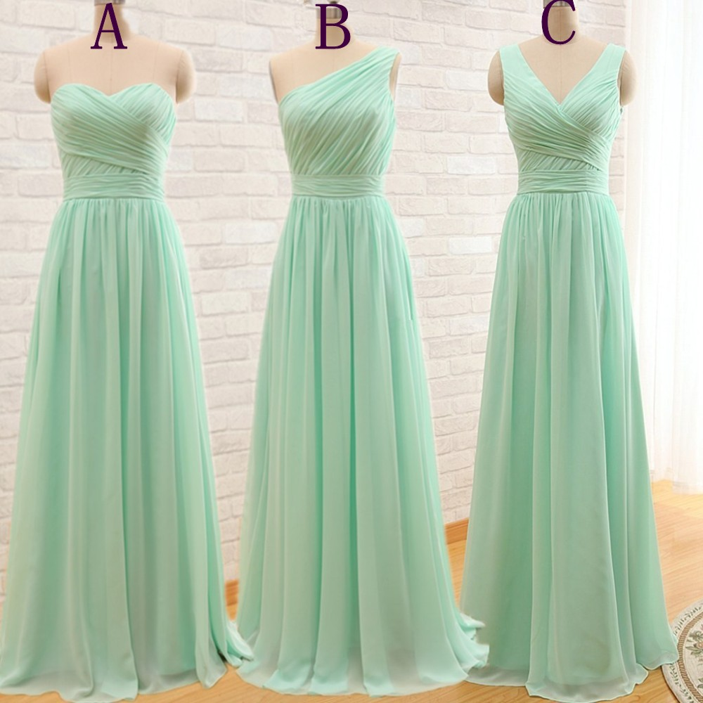 One shoulder mint green bridesmaid gownpretty prom dresses one shoulder mint green bridesmaid gownpretty prom dresseschiffon prom gownsimple bridesmaid dresssweetheart bridesmaid dresscheap evening dressesfall ombrellifo Image collections