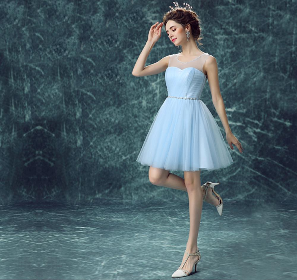 Light Sky Blue Homecoming Dress,Short Prom Dresses,Homecoming ...