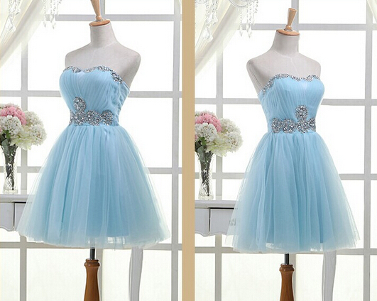 Light Sky Blue Homecoming Dress 8d4dc09c1