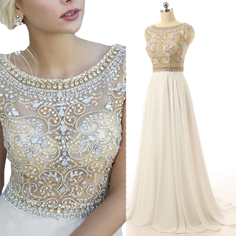 Prom Dresses,Elegant Evening Dresses,Long Formal Gowns,Beaded Party ...