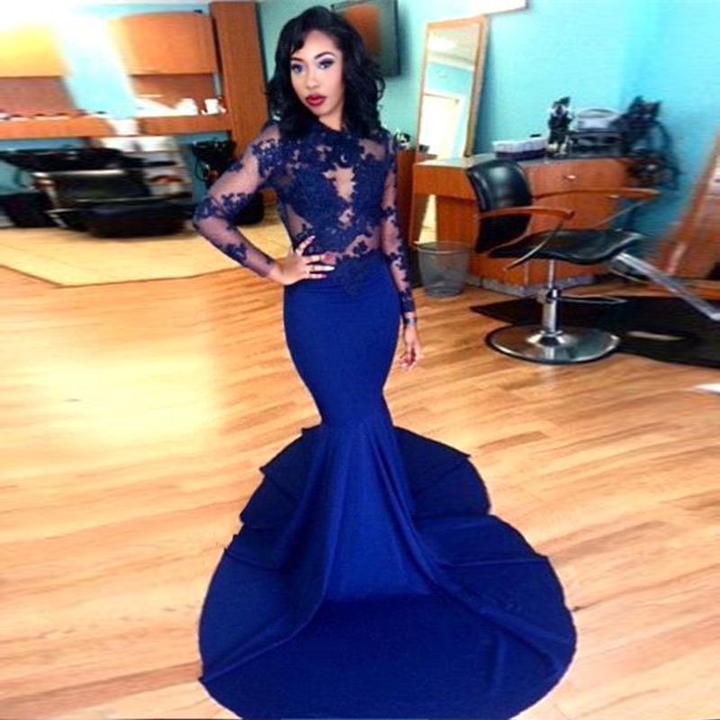Royal Blue Prom Dresses 6ebfe31e5