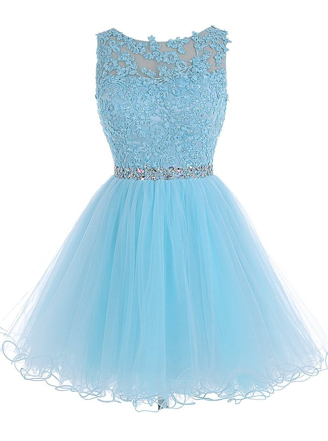 fc8a5c75be Tulle Homecoming Dress