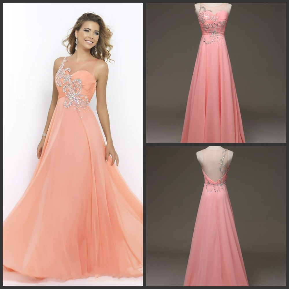 Backless Prom Dresses,Beading Prom Dress,Open Back Formal Gown,Open ...