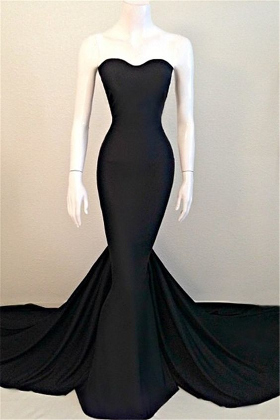 Black Prom Dresses Mermaid Dress Formal Gown Evening Gowns Party For S