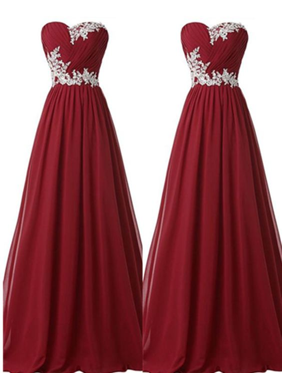 Burgundy Prom Dresses,Lace Prom Gown,Prom Gowns,Simple Evening Dress,Lace Evening Dress,Wine Red Formal Dress, Party Gowns