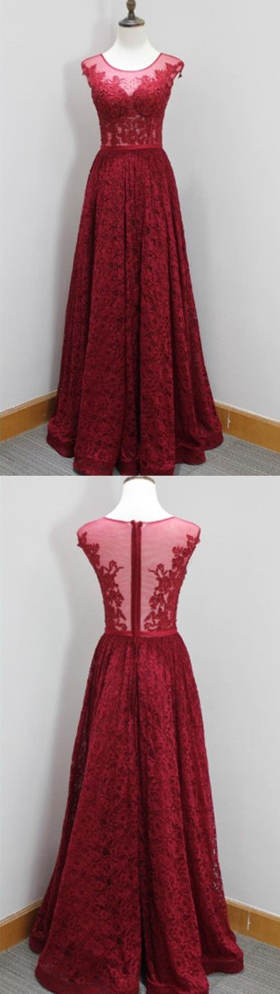 New Arrival Prom Dress,Modest Prom Dress,burgundy evening gowns,wine red prom dresses,lace prom dresses,lace evening dress