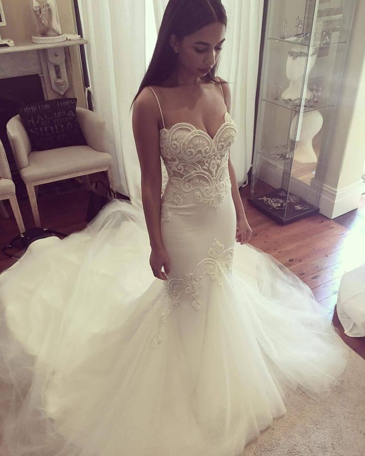 Mermaid Princess Wedding Dresses