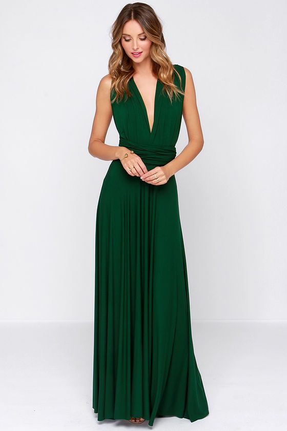 Green Prom Dresses,Chiffon Evening Gowns,Prom Dresses,New Fashion ...