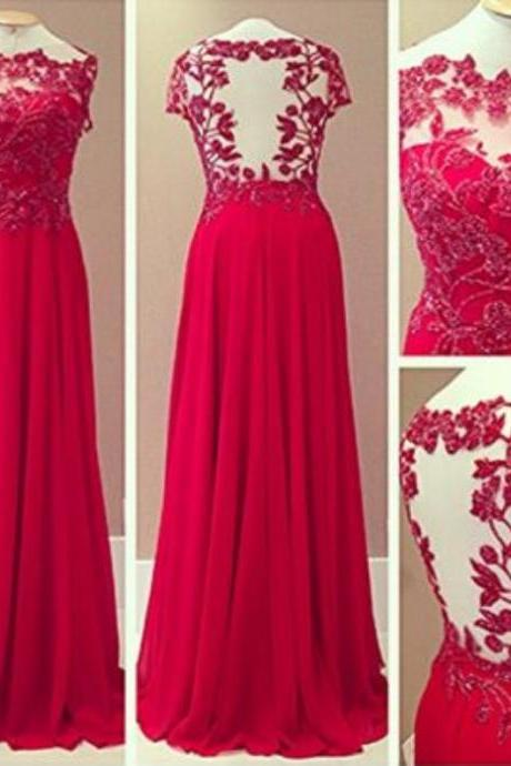 Red Prom Dresses,Prom Dress,Red Prom Gown,Lace Prom Gowns,Elegant Evening Dress,Modest Evening Gowns,Simple Party Gowns,Lace Prom Dress