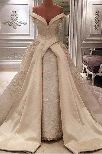Long Floor Length ball gown quinceanera dresses Evening Dresses Glamorous Prom Dress champagne Graduaction Dresses