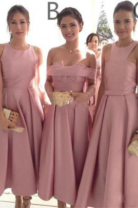 Charming Bridesmaid Dress, Sexy A Line Bridesmaid Dresses, Wedding Party Gown P0365