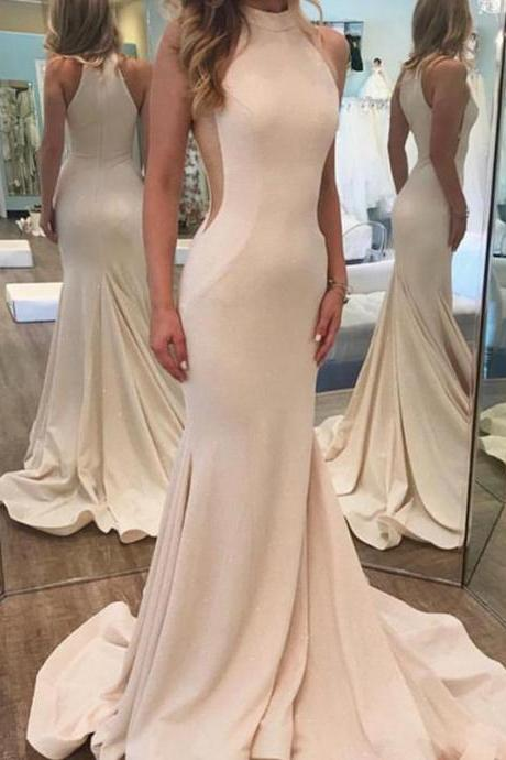 Sexy Sleeveless Prom Dress, Mermaid Prom Dresses, Long Evening Dress P1146