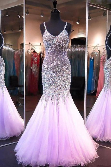 Prom Dresses,Tulle Prom Dress,Sexy Prom Dress,Mermaid Prom Dresses,Prom Gown For Teens P1308