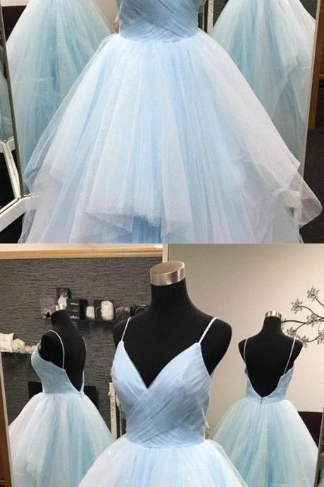 Light Blue Quinceanera Dresses,Ball Gowns Quinceanera Dress,Ball Gowns Prom Dresses,Sweet 16 Dresses,Light Blue Wedding Dresses P1952
