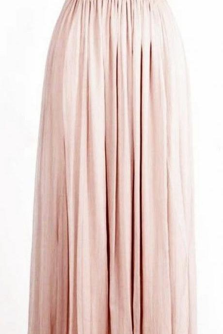 Prom Dresses,Blush Pink Evening Gowns,Sexy Formal Dresses,Chiffon Prom Dresses,Fashion Evening Gown,Sexy Evening Dress,Sequins Party Dress,Bridesmaid Gowns