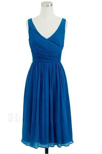 Royal Blue Bridesmaid Dresses,Knee Length Bridesmaid Gown,Summer Bridesmaid Gowns,Beach Bridesmaid Dress,Black Bridesmaid Gown,Mint Green Bridesmaid Dress