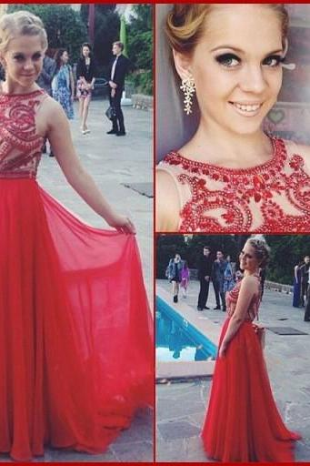 Red Prom Dresses,Beading Evening Dress,A line Prom Dress,Simple Prom Dresses,Unique Prom Gown,Sexy Prom Dress,Sparkle Evening Gowns,Glitter Party Dress for Teens