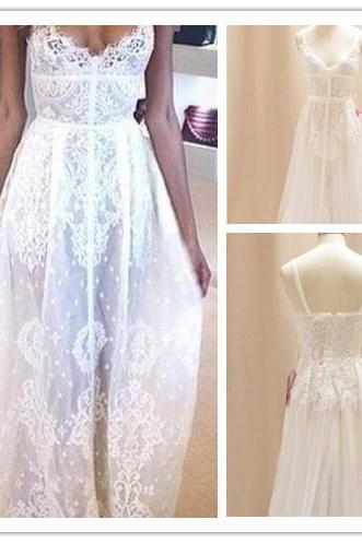 Wedding Dresses,2016 Wedding Gown,Lace Wedding Gowns,Bridal Dress,Wedding Dress,Brides Dress,Vintage Wedding Gowns,Wedding Dress