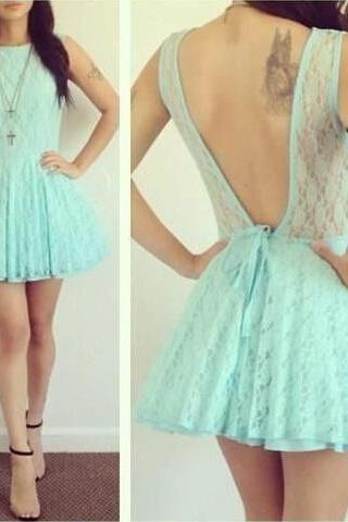 Lace Homecoming Dress,Mint Green Homecoming Dress,Mint Green Homecoming Dress,Lace Homecoming Dress,Short Prom Dress,Country Homecoming Gowns,Sweet 16 Dress,Simple Homecoming Dress,Casual Parties Gowns
