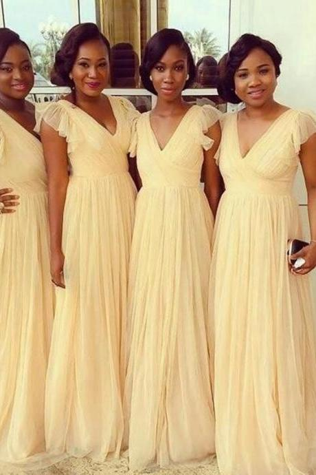 Bridesmaid Gown,Pretty Prom Dresses,Prom Gown,Simple Bridesmaid Dress,Bridesmaid Dresses,Bridesmaid Gowns