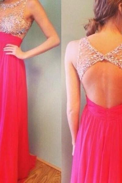 Red Prom Dresses,Open Back Prom Gowns,Backless Prom Dresses,Sparkle Party Dresses,Long Prom Gown,Open Backs Prom Dress,2016 Evening Gowns,Sparkly Formal Gown