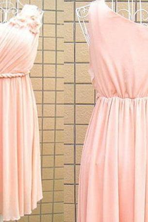 Blush Pink Homecoming Dress,One Shoulder Homecoming Dresses,Homecoming Gowns,Prom Gown,Blush Pink Sweet 16 Dress,Homecoming Dress,Cocktail Dress,Evening Gowns
