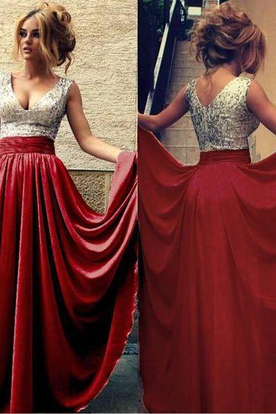 New Arrival Prom Dress, chiffon long prom dress, sweetheart sequins chiffon prom dress, cheap prom dress,sexy prom dress
