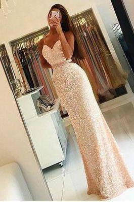 New Arrival Prom Dress,Prom dress,sequin prom dress, long woman dresses