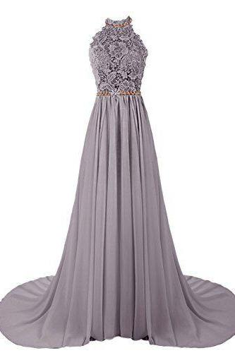 Prom Dresses,Chiffon Prom Gown,Lace Evening Dress,Prom Dress,Evening Gowns,Formal Dress