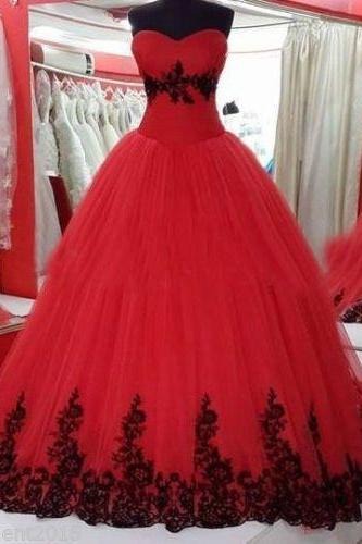 Red Prom Dresses,Prom Dress,prom Dresses,ball Gown Formal Gown,Evening Gowns,Red Party Dress,Prom Gown For Teens