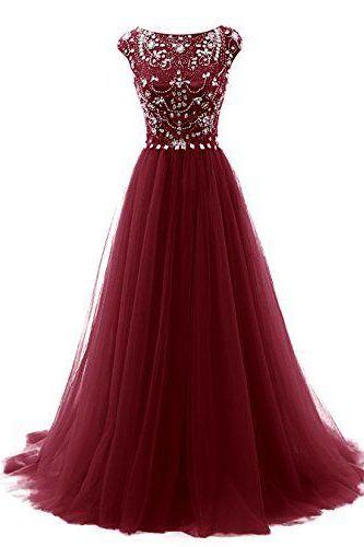 Burgundy Prom Dresses,Wine Red Evening Gowns,Sexy Formal Dresses,Burgundy Prom Dresses,New Fashion Evening Gown,Satin Evening Dress