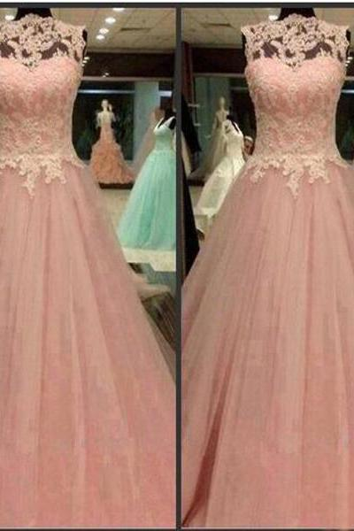 Long Prom Dresses,Sleeveless Prom Dresses,Prom Dress With Lace,Custom Prom Dresses,Pretty Prom Dresses,Discount Prom Dresses