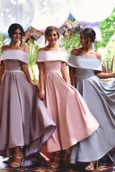 Off Shoulder Bridesmaid Dresses,Simple Bridesmaid Dress,New Arrival bridesmaid dress,Custom bridesmaid dress, Wedding Party Dresses,Long Bridesmaid Dress,Bridesmaid Dresses,Bridal Gowns