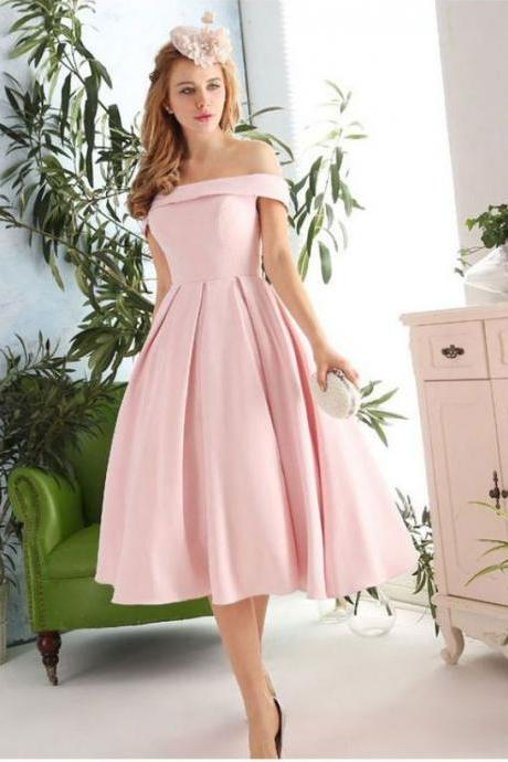Prom Dresses,Pink Evening Gowns,off the shoulder Prom Dresses,Fashion Evening Gown,Beautiful Evening Dress,Pink Formal Dress,Prom Gowns