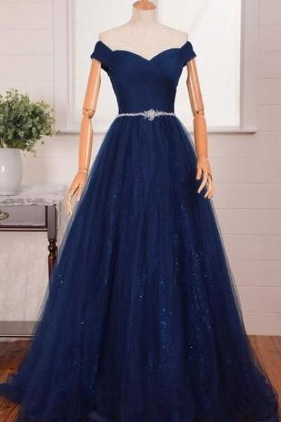 Off the Shoulder Sexy Prom Dress Formal Women Evening Gown Prom Dresses