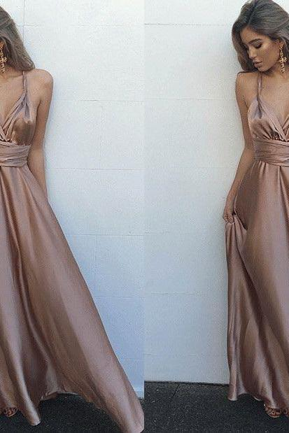 Prom Dresses,Backless Prom Gown,Modest Evening Dress,Evening Gowns,Open Backs Formal Dress