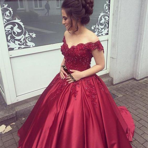 burgundy wedding dress,engagement dress,bridetobe,brautkleid,vestidos de noiva,ball gowns prom dress