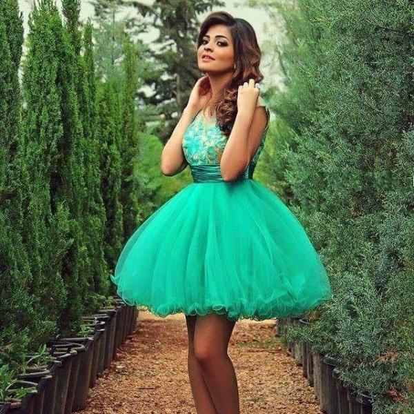 Cocktail Dresses Turquoise Sweet 16