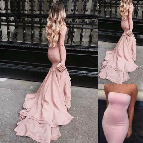Pink Prom Dresses,Pink Evening Gowns,Simple Formal Dresses,Prom Dresses,Teens Fashion Evening Gown,Evening Dress,Pink Party Dress,Prom Gowns
